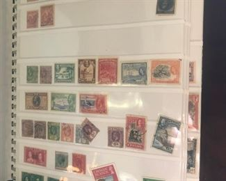 SMALL PART OF A HUGE STAMP COLLECTION