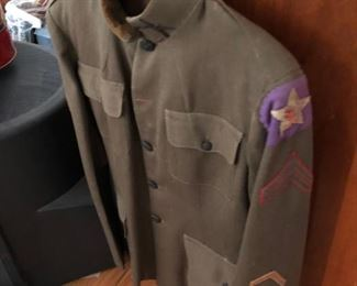 GOELET GALLATIN WORLD WAR I UNIFORM