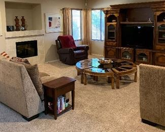 Sectional Sofa, Vintage Round Gordon's Coffee Table, Entertainment Unit, Rocker/Swivel Recliner, Side Tables and more.