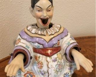 Ardalt Japanese Bisque Nodder Figurine