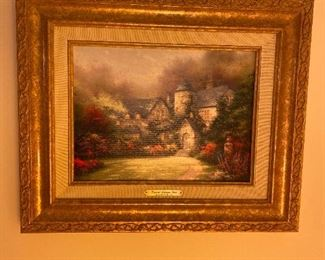 Thomas Kinkade Beyond Autumn Gate Oil Painting