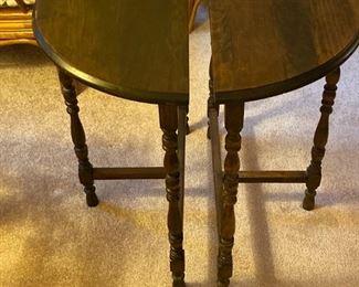 Walnut End Table (Splits)