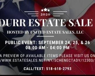 Durr Estate Sale