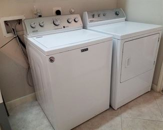 washer and dryer, Maytag