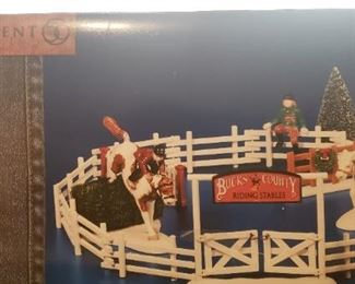 Department 56 Cowboy Themed Christmas Items