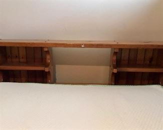 Queen size waterbed frame