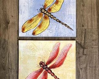 Dragonfly prints
