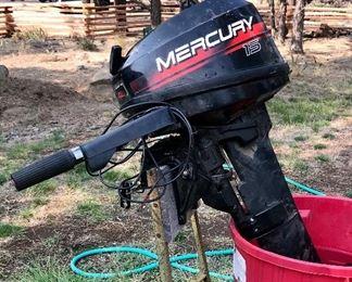 Mercury 15 outboard motor