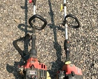 Craftsman and Homelite weed trimmers