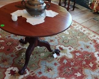 Gorgeous hand-knotted rug from Pottery Barn we didn't have time to unroll this or anywhere place. New not old