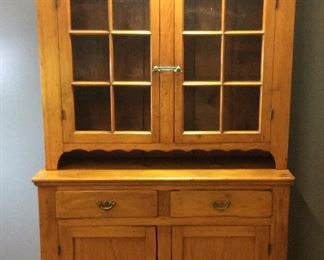 ANTIQUE PINE FRENCH COUNTRY BUFFET