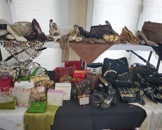 Women's  fashion handbags, accessories