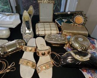 Women's  fashion handbags, accessories , shoes size 5/6