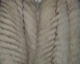 women's fur coats,  size small, jacket length