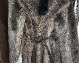 Faux Fur, knee length