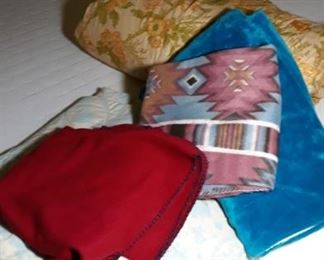 Assorted Blankets and Throws