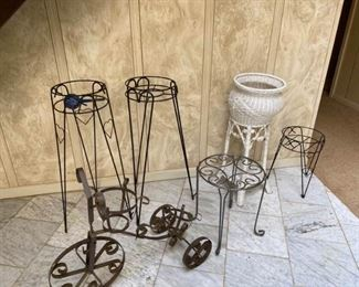 Assortment of Plant Stands