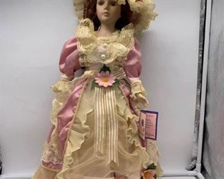Goldenvale Porcelain Doll with CofA