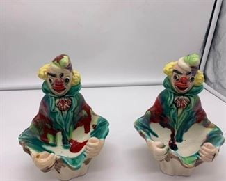 Two Vintage Clowns