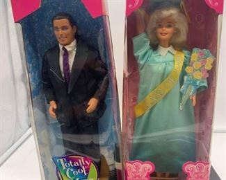 Ken and Barbie In Boxes