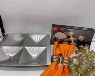 Napkin Rings and Coaster Assortment