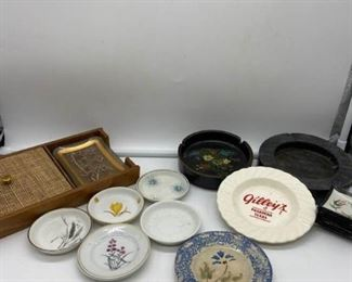 Small Porcelain Glass Trays