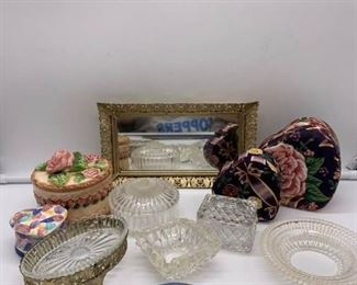 Trinket Boxes and Dishes
