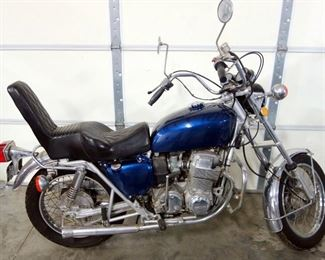 """1975 Honda Motorcycle CB750, Air-Cooled, Transverse, In-Line 4-Cyl Engine, 1st """"Superbike"""", 23,700 Miles, VIN# CB7502519812"""