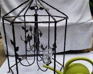 Large Hanging Candelabra