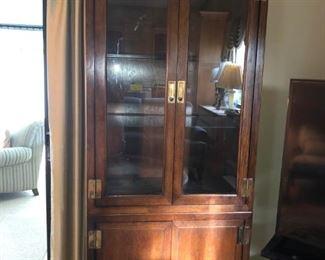 Mahogany 5 piece cabinet