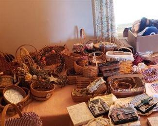 Baskets including Longaberger