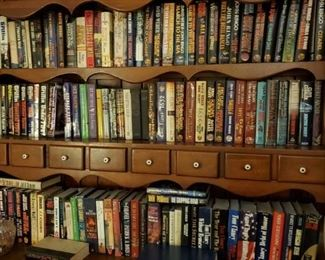Significantly more books than shown here!