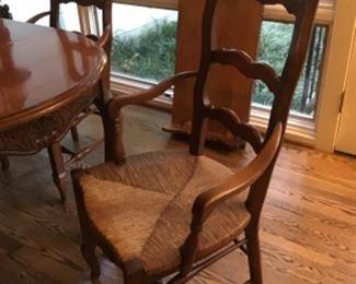 Four chairs. 125.00 each