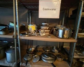 Vintage and NIB cookware, roasters, pots & pans