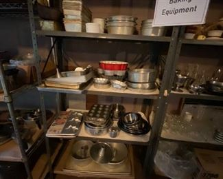 All types of baking and pastry equipment
