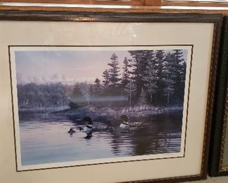 Framed proof print by Rick Kelly
