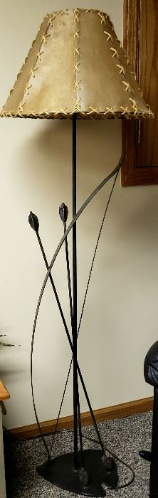 "The other ""bow & arrows"" floor lamp"