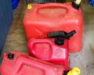 Gas cans & animal traps