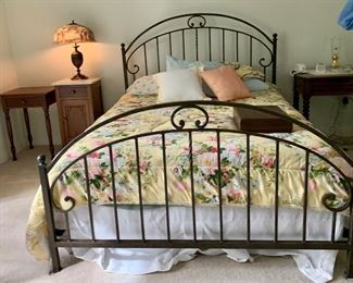 Queen Size Wrought Iron Bed