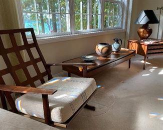 Mid Century Modern Danish Modern Selig Chair