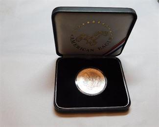 1 oz .999 silver eagle