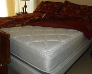 King Size Mattress Set..Very Nice!