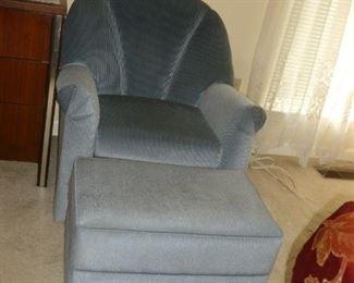 Nice Chair & Ottoman