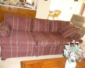 Nice Living Room Sofa (darker than in photo)