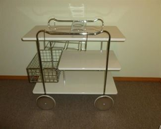 Cool bar cart