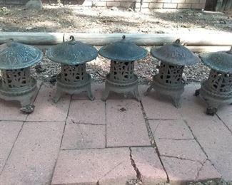 Cast Iron Pagodas