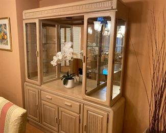 KELLER CHINA CABINET - BUY IT NOW $250
