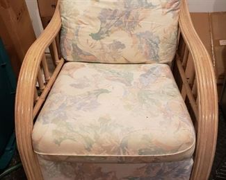 MATCHING RATTAN CHAIR - BUY IT NOW $75