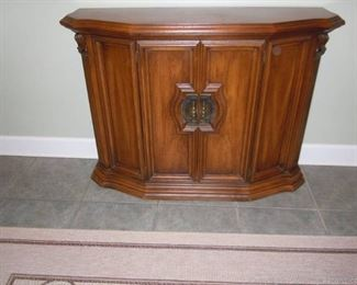 Vintage Accent or Foyer Cabinet