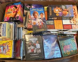 Lots of CDs, DVDs and more!